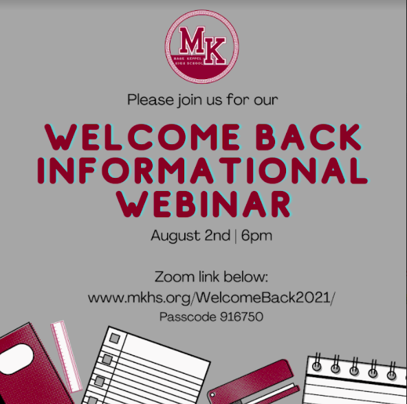 Welcome Back Informational Webinar Featured Photo