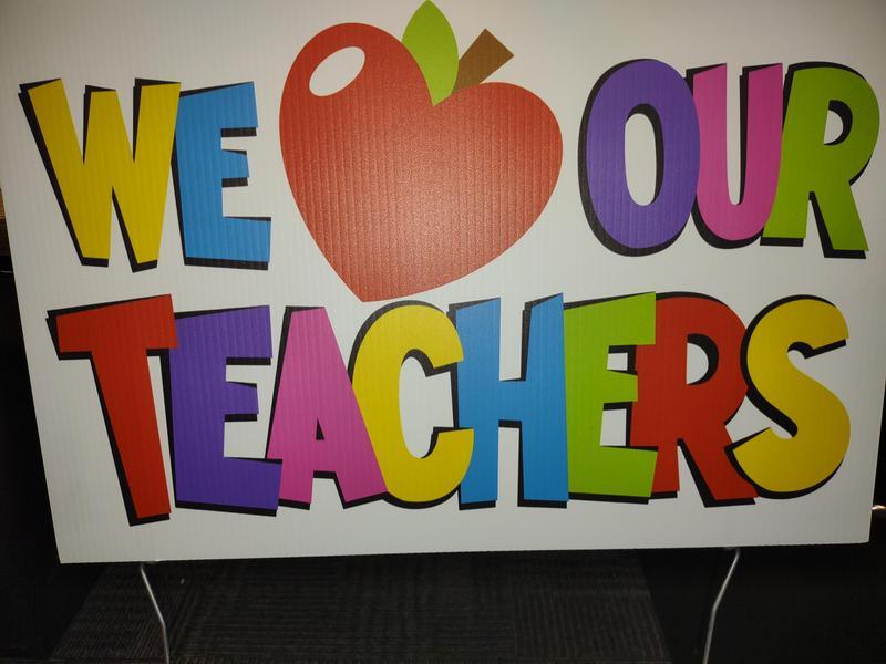 HAPPY TEACHER APPRECIATION WEEK Thumbnail Image