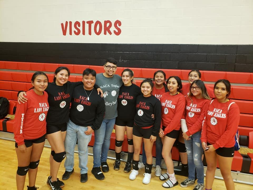 NACA Lady Eagles Varsity Volleyball Team (2019 - 2020)