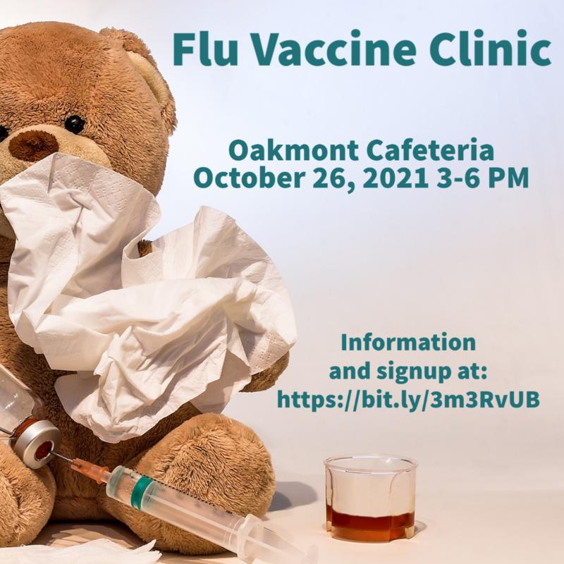 Flu Vaccine Clinic 10/26/2021 Featured Photo