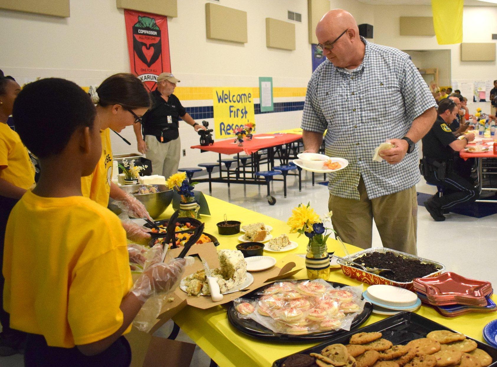 SRA Hosts Lunch for First Responders