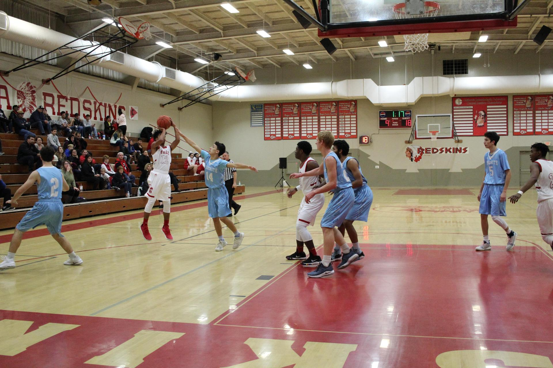Chowchilla High athletes in action against Yosemite