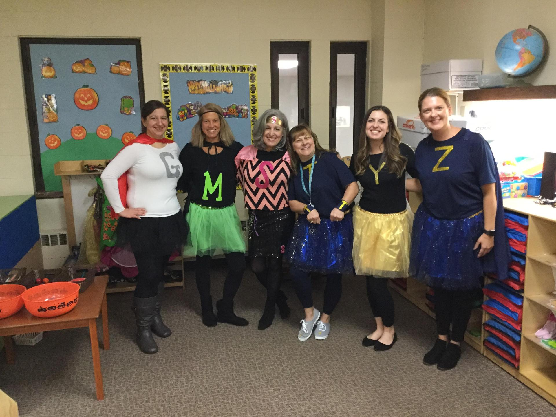 Halloween Teachers and Aides