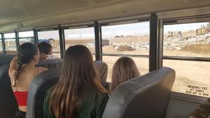 Bus trip to landfill