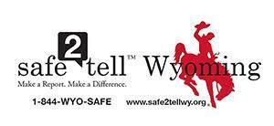 Safe2Tell Wyoming logo