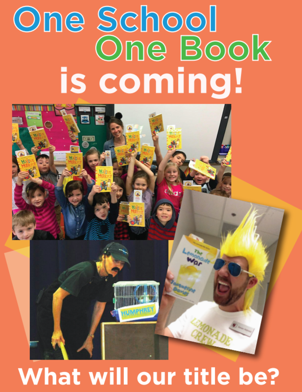 One School, One Book is coming