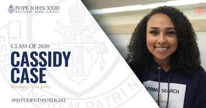 Cassidy Case PJ Student Spotlight