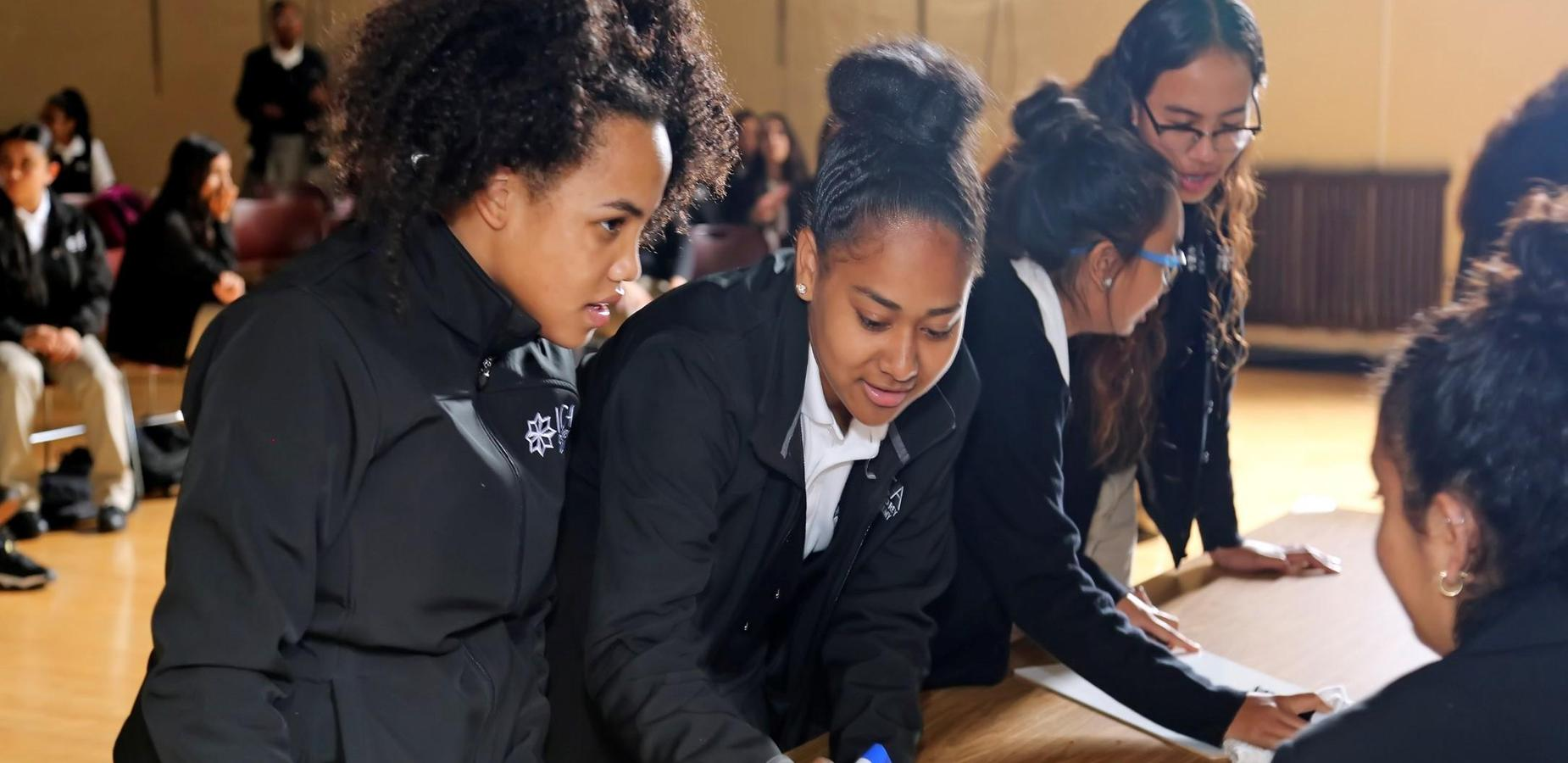 students at MAPS