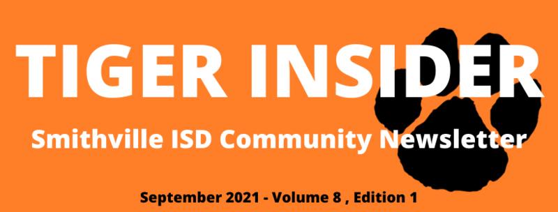September Tiger Insider Newsletter