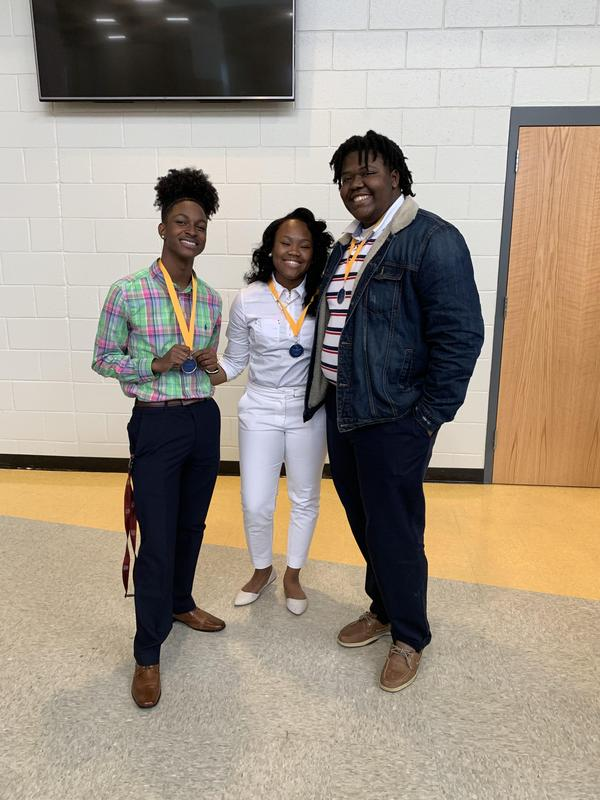 Darius Free, Ja'Leasha Willis, Keyshawn Robertson- 4th Place Publication Design