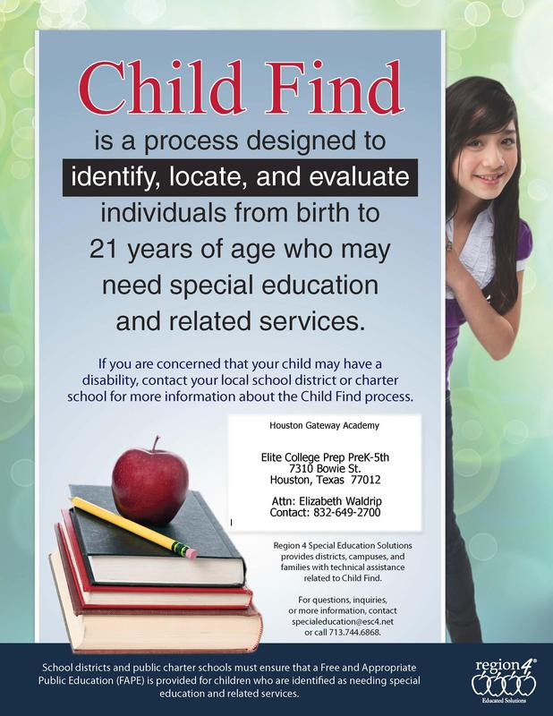Child Find Flyer
