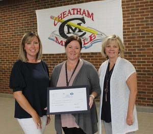 Cheatham Middle School: Kristina Pardue, Robotics Enrichment, $1,500