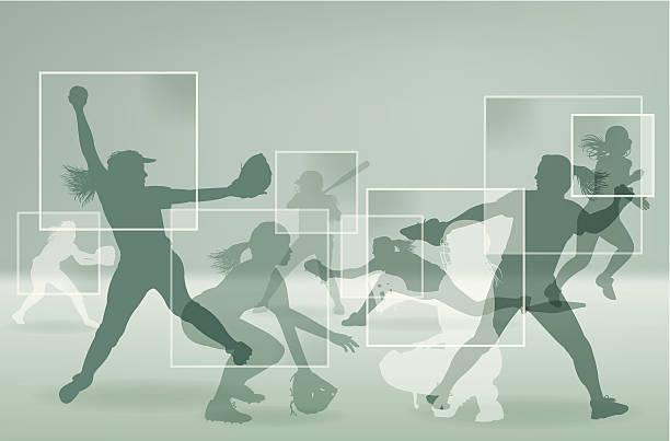softball graphic