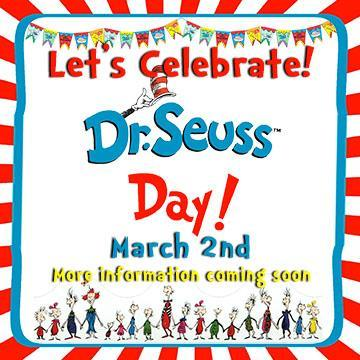 Dr. Seuss Day is March 2nd Thumbnail Image