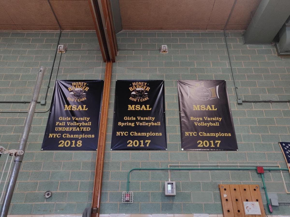 Cavallaro Championship Banners
