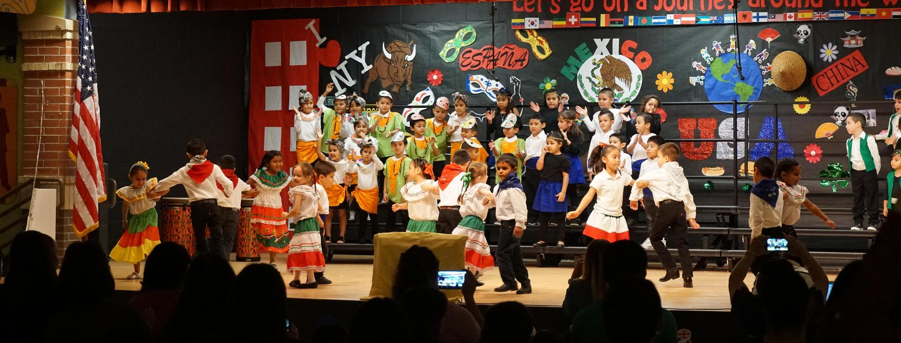 First Grade P.T.O. Performance