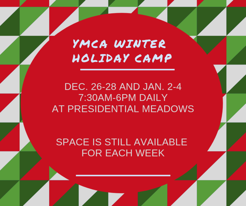 YMCA Winter Holiday Camp is open for enrollment Thumbnail Image