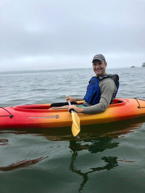Kayaking in Maine