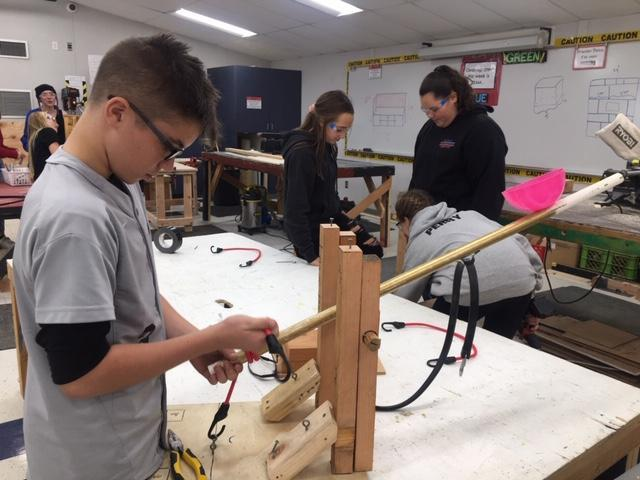 Student STEAM Catapult Project