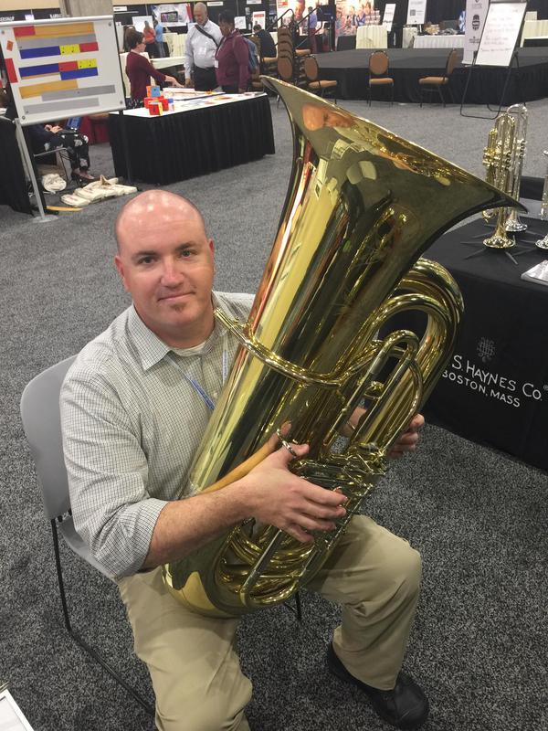 Brent Rose On Tuba