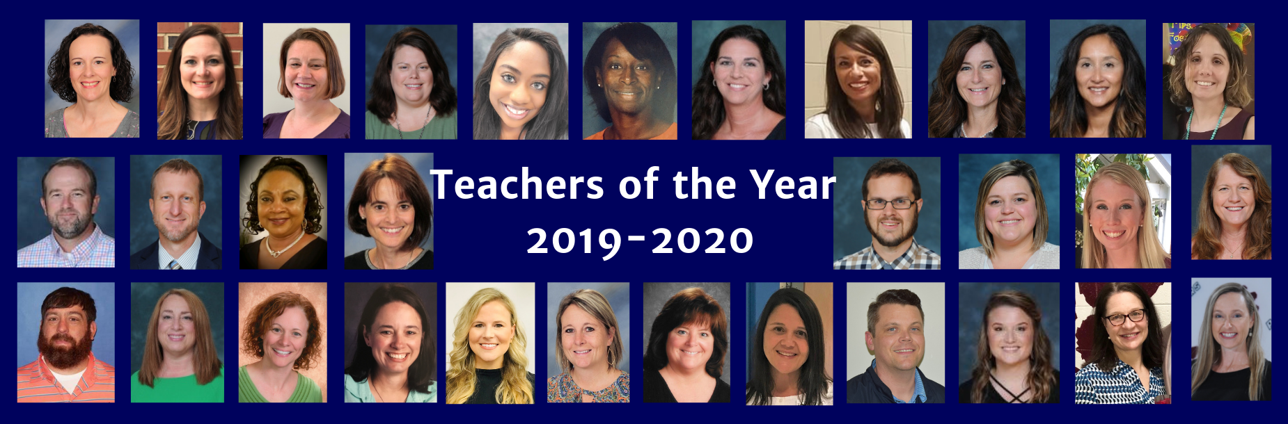 CCSD Teachers of the Year 2019-2020