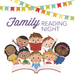 family reading night image