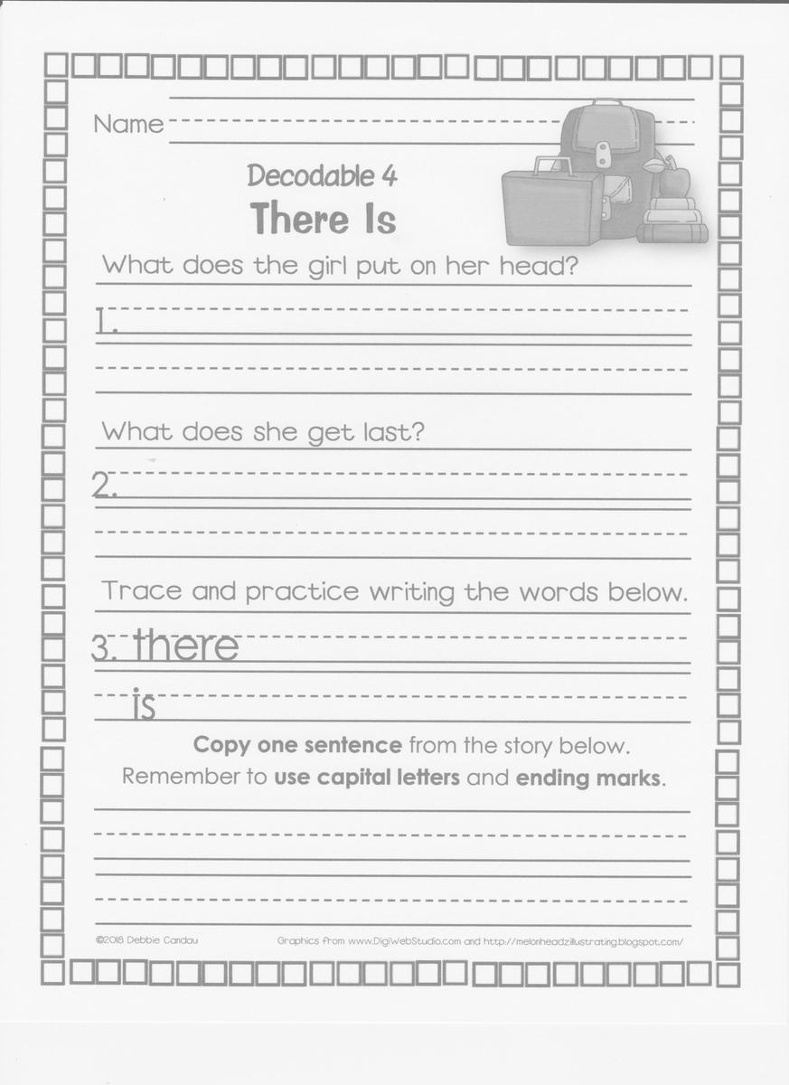 Thursday Decodable 4 'There Is' Worksheet001.jpg