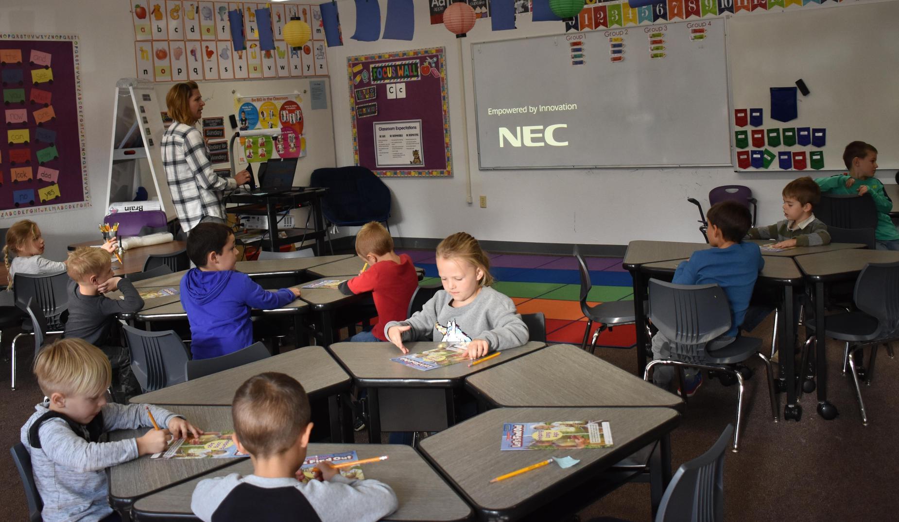 TK classroom