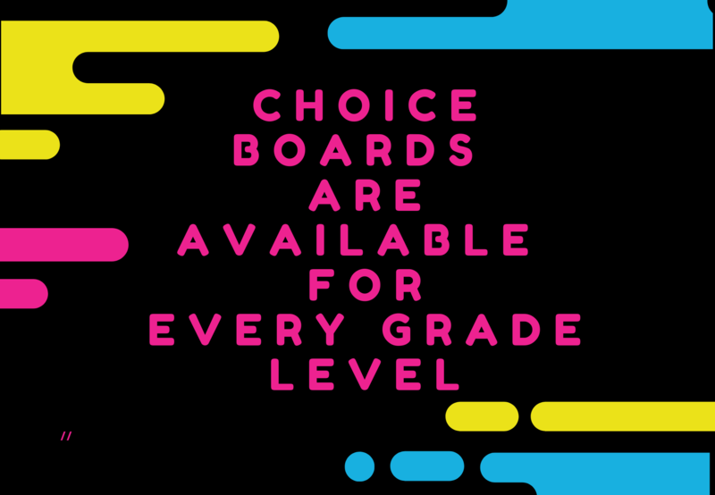 Choice Boards Thumbnail Image