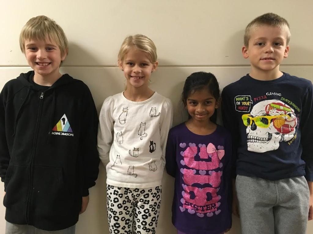 Elementary Spartans of the Month