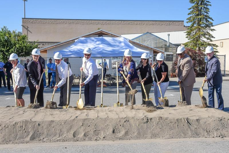 CHS GROUND-BREAKING CEREMONY Thumbnail Image