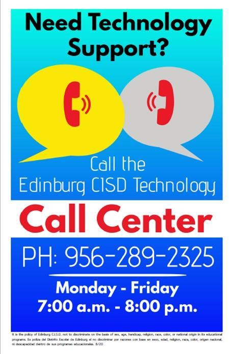 Image of Call Center English flyer