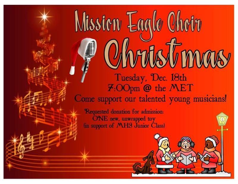 Choir Christmas Program Featured Photo