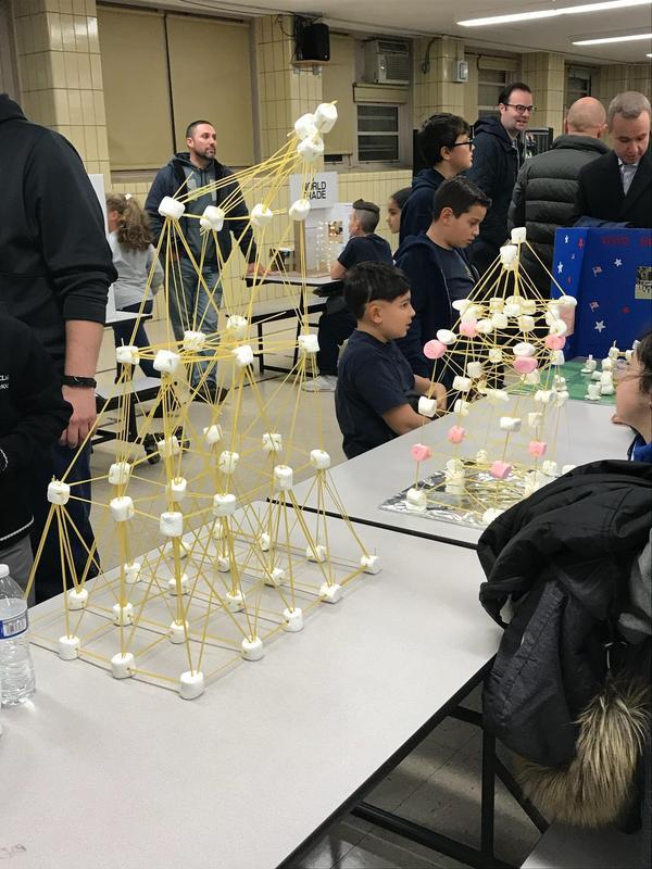 Spaghetti Marshmallow Competition