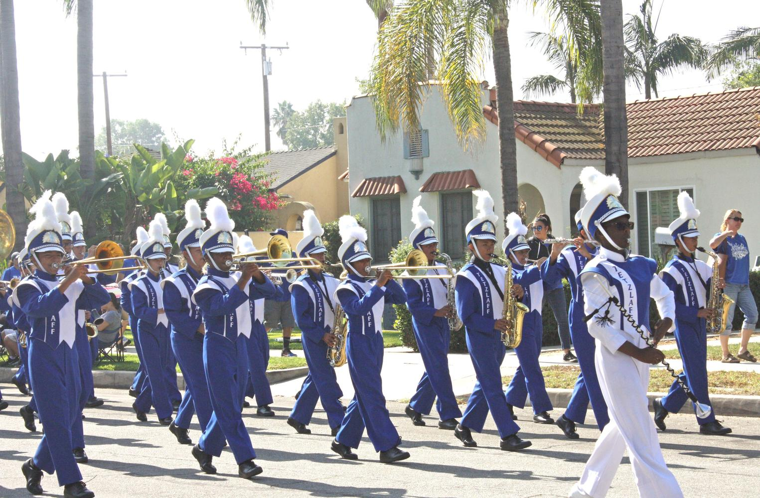 school band parade