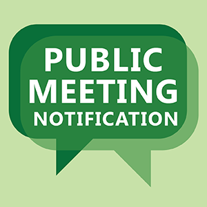 Virtual Public Meeting September 23rd at 4:15 PM Thumbnail Image