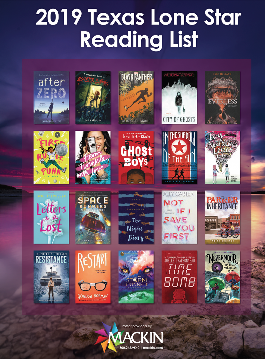 2019-2020 Lone Star Reading List