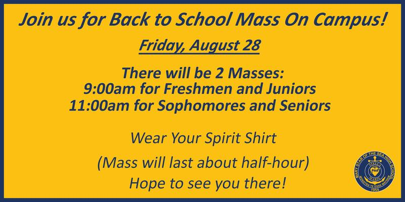 Back to School Mass Featured Photo