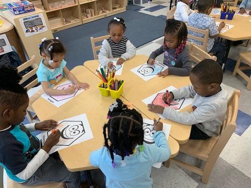 Coloring our hexagon