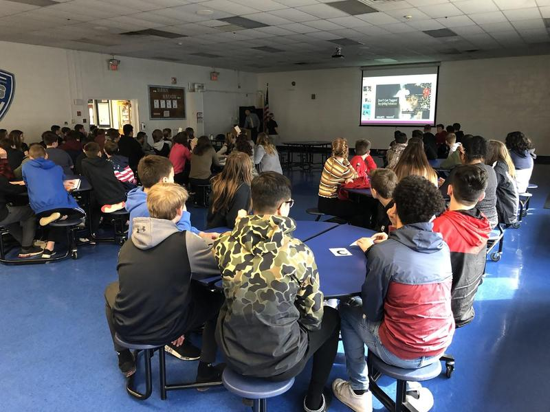 CMC Prosecutor's Office Visits Middle School Students Thumbnail Image