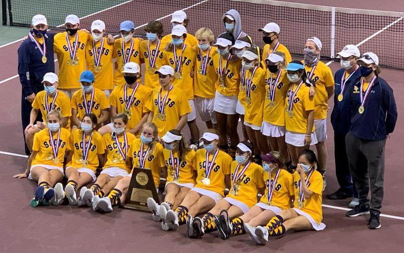 Scots tennis team wins 5th consecutive state title Featured Photo