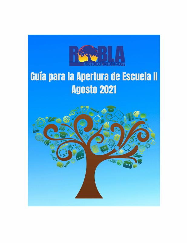 Image of the cover of Guía para la apertura de escuelas II - Agosto de 2021