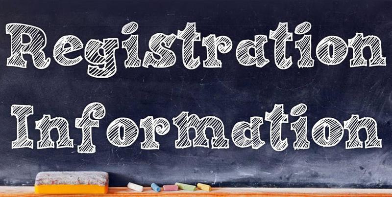 registration inforamation