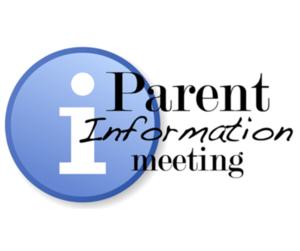 parent info meeting