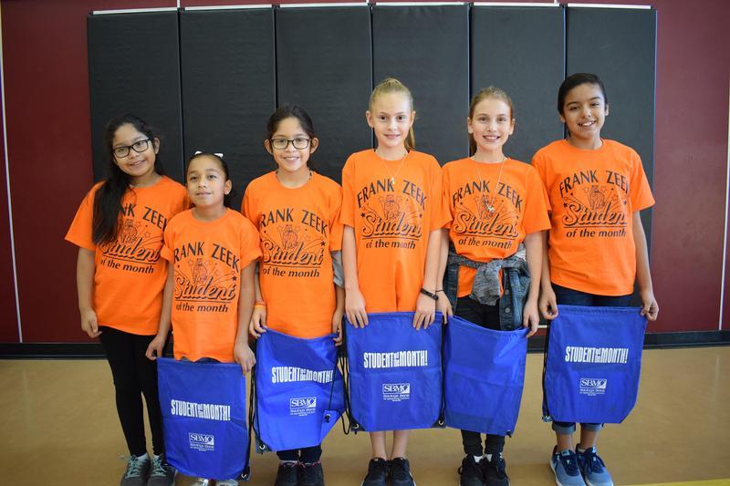 School Desk Blog: Student of the Month Ceremony Recognizes Student Achievements Thumbnail Image