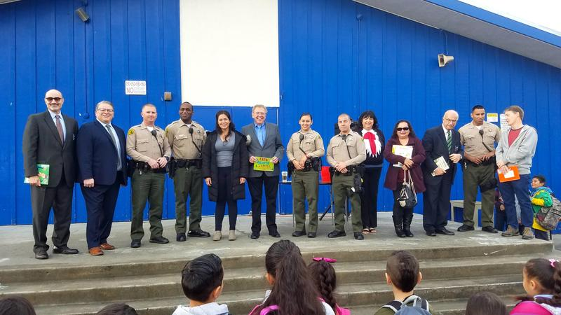 South Whittier School District Holds It's First Reading Around South Whittier Event Featured Photo