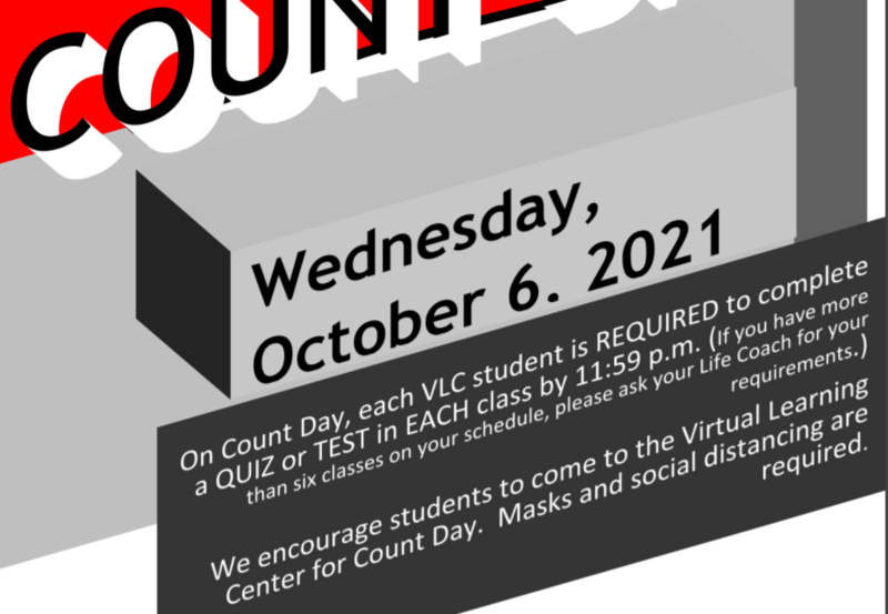 October 6th Count Day Details