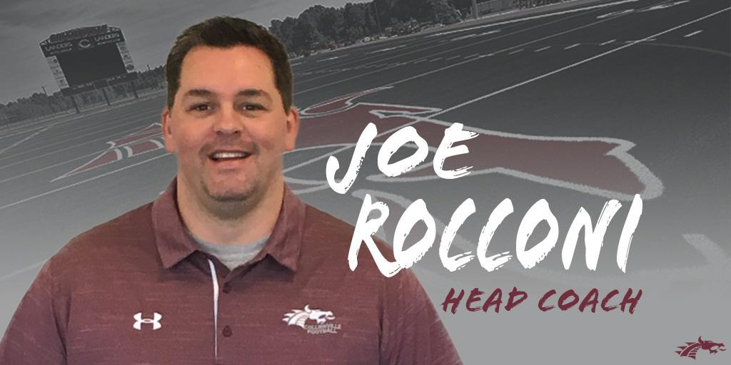 42b2519222e Rocconi Named Head Football Coach at Collierville