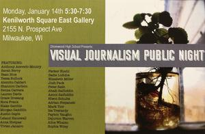 visual journalism public night poster