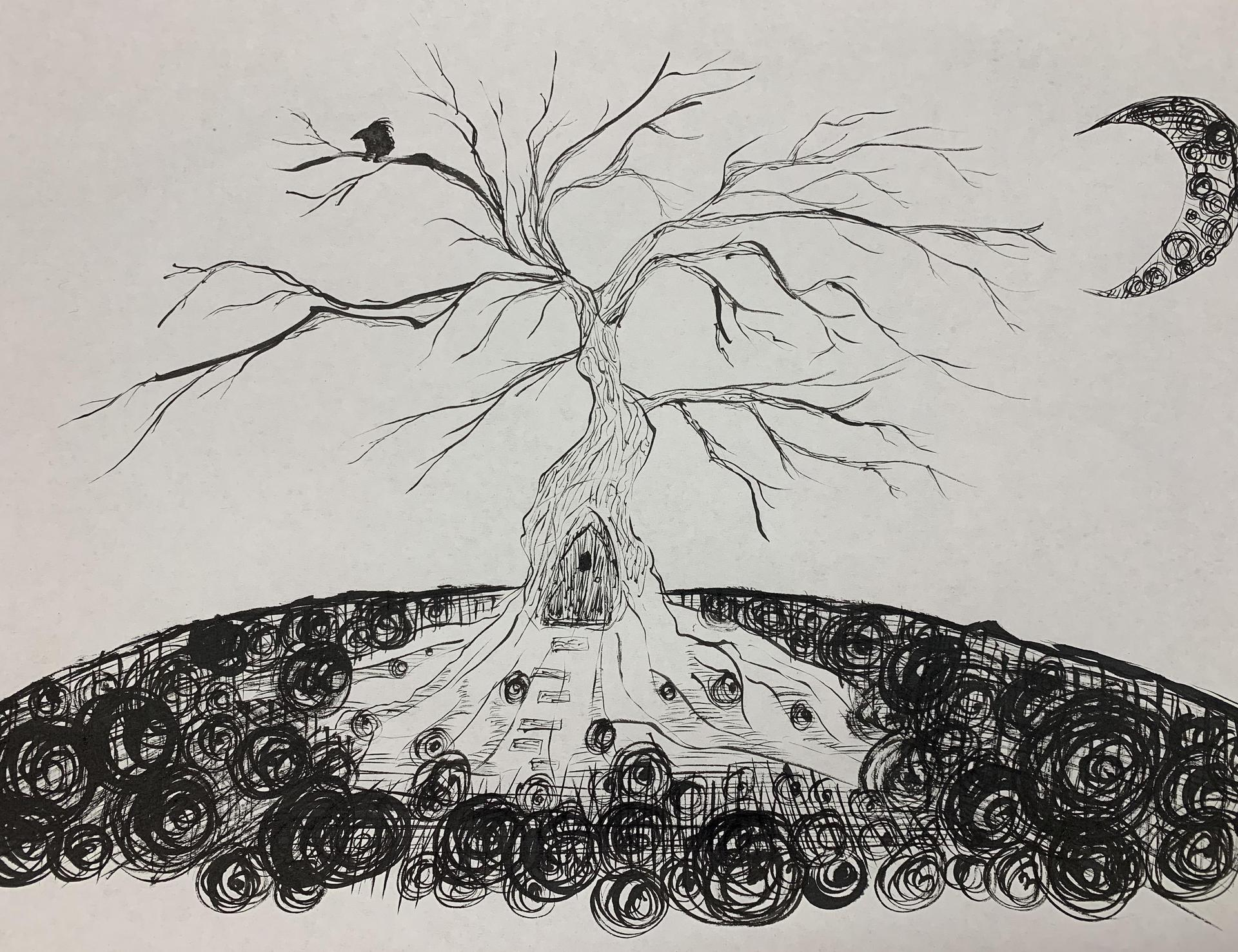 Student Ink Artwork